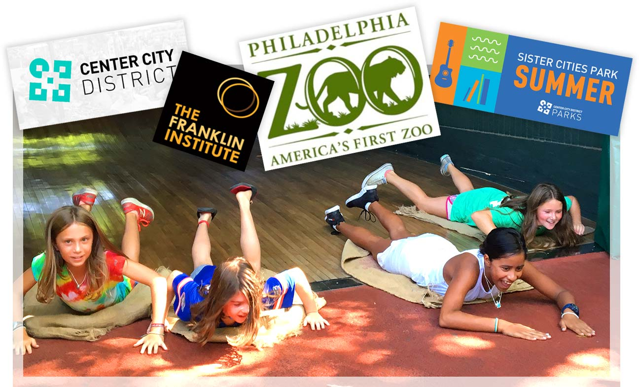 Center City District, The Franklin Institute, Philadelphia Zoo, Sister Cities Park Summer