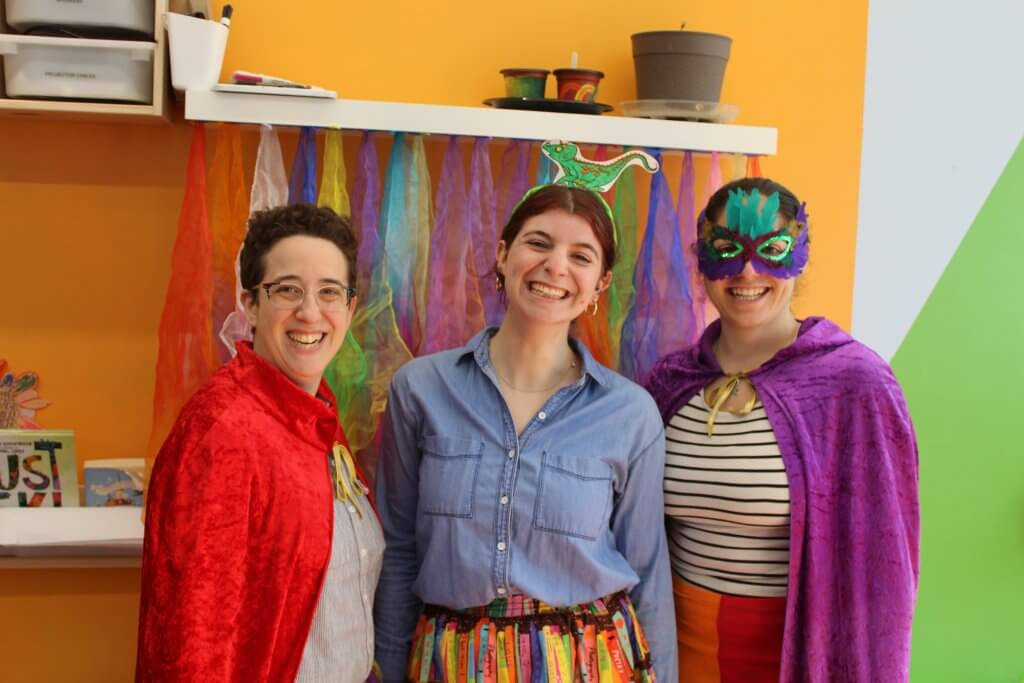 Purim Shenanigans with Our Community!