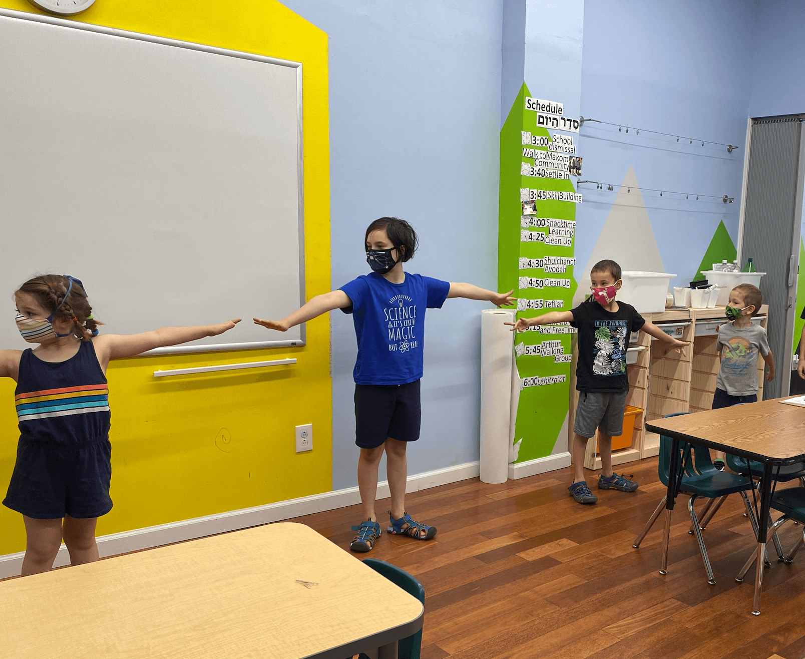 Making Magic at School's Out Camp